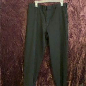 Men's black dressy pants